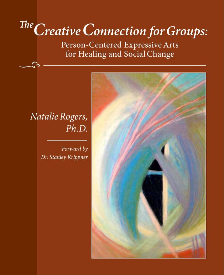 The Creative Connection For Groups: Person Centered Expressive Arts For  Healing And Social Change