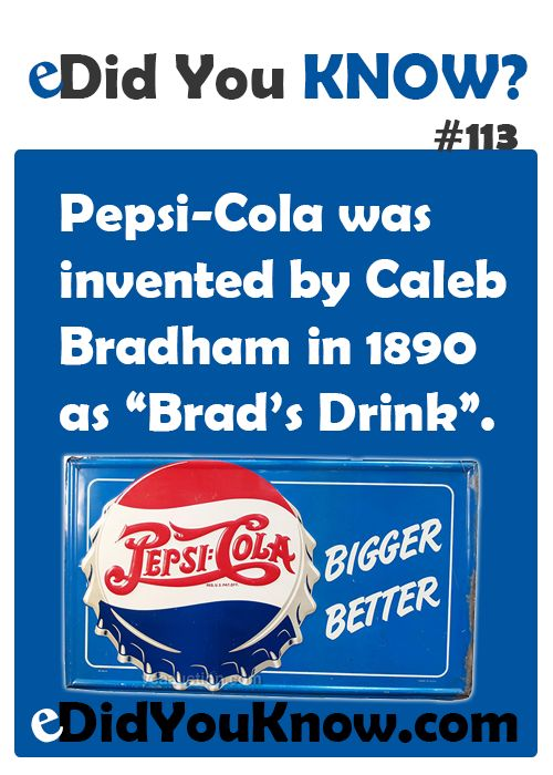 17 best images about pepsi on pinterest pepsi logo for Interesting facts about crack