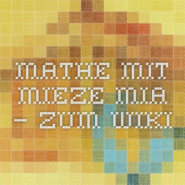 Mathe mit Mieze Mia – ZUM-Wiki