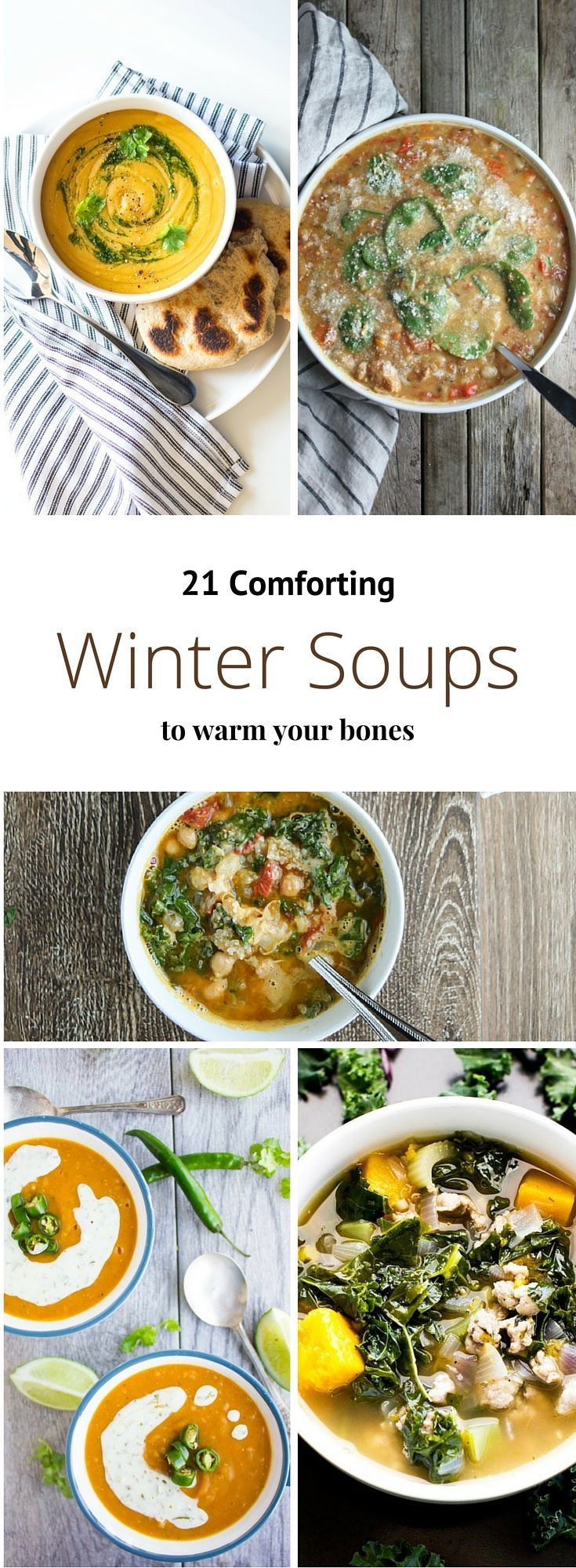 21 Comforting Winter Soups to Warm Your Bones from Buzzfeed