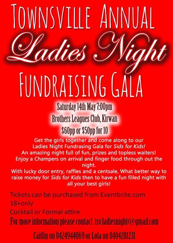 Annual fundraising ladies gala