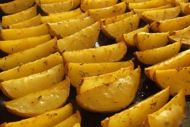 Картошка по-деревенски в духовке рецепт – основные блюда. «Афиша-Еда»