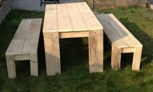 Scaffold Table and Benches