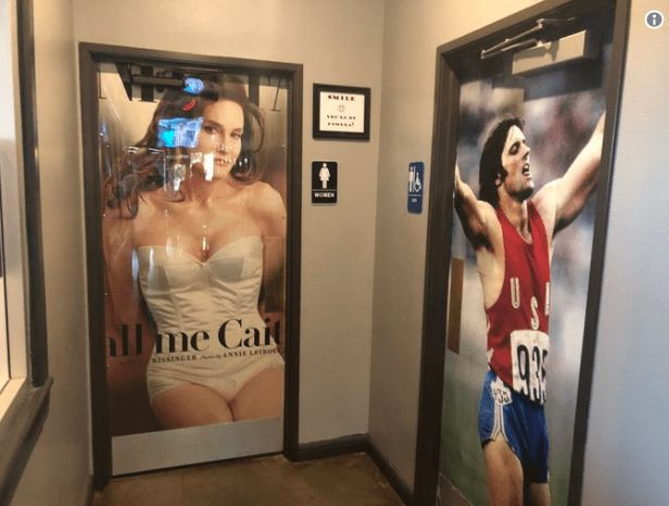 Cajun restaurant's bathroom doors draw heated arguments from both sides