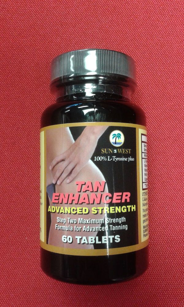 Tanning Pills  Tan Enhancer Advanced Strength 60ct   #TanEnhancer