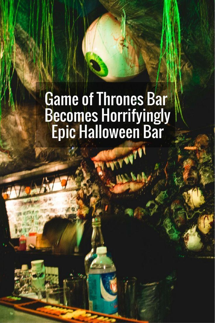 Epic Halloween Pop Up Bar Opens In Washington Dc Unusual Bars And
