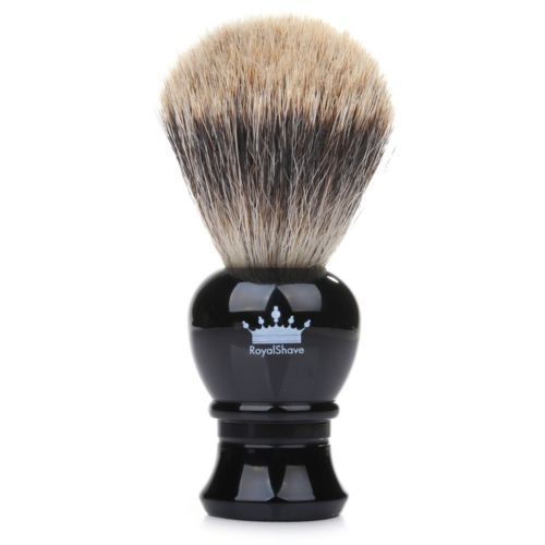 Shaving Brushes and Mugs: Royal Shave Pb3 Silvertip Pure Badger Hair Brush Classic Shaving Royalshave Usa BUY IT NOW ONLY: $47.95