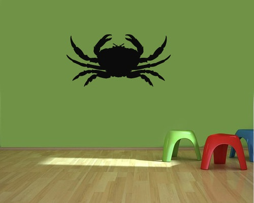 Crab Animal Interior Design Wall Decor Vinyl Sticker Decal