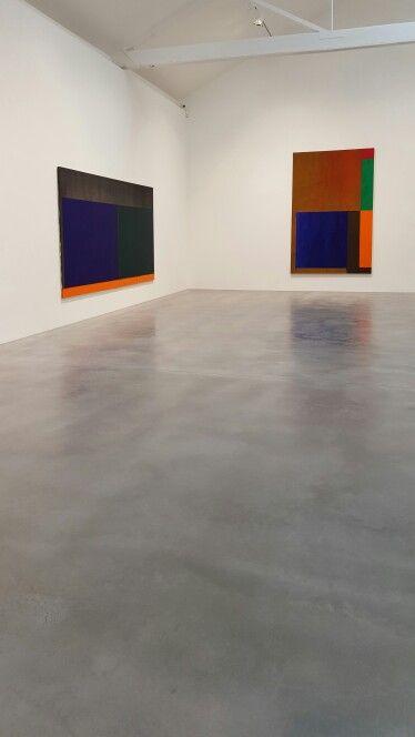 John Hoyland. Newport Street Gallery. 2016
