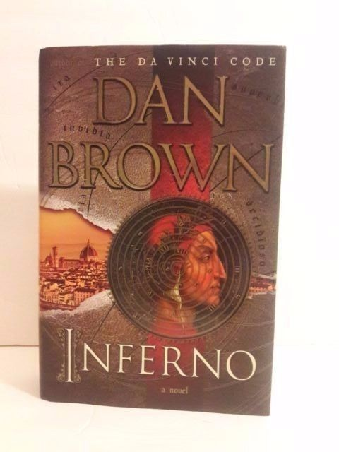 INFERNO by Dan Brown Hardcover book  Dante's Inferno Mystery FREE SHIPPING 2013