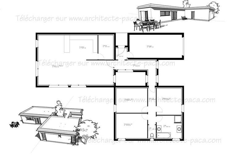 25 best ideas about plan de maison gratuit on pinterest for Plan amenagement maison gratuit