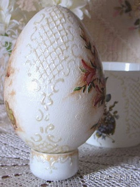 Atelier Palmette: Duże jaja na bogato
