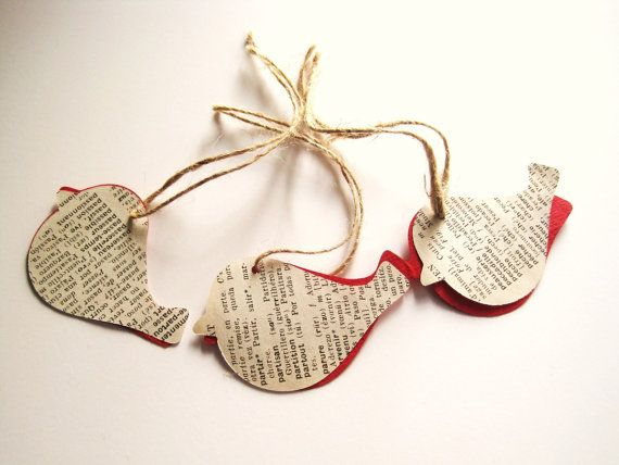 Have a shabby chic Christmas by Paula on Etsy