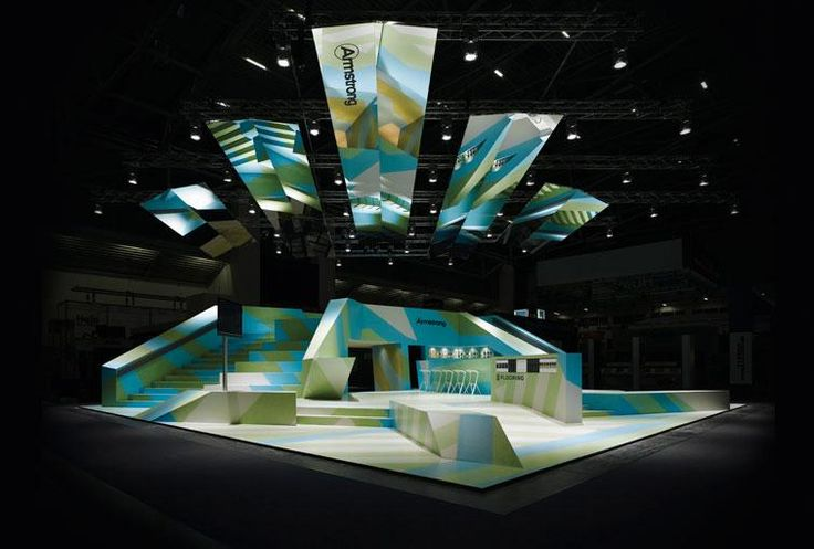 Love the shapes, not the colors so much.. but these are great surfaces for mapping and makes a strong statement to the audience