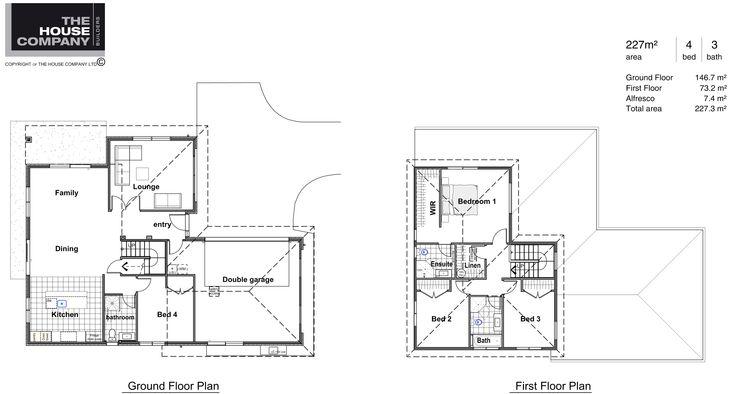 Waiheke floor plan