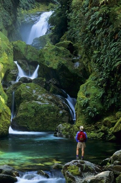 #FiordlandNationalPark, #NewZealand Located on New Zealand's #SouthIsland