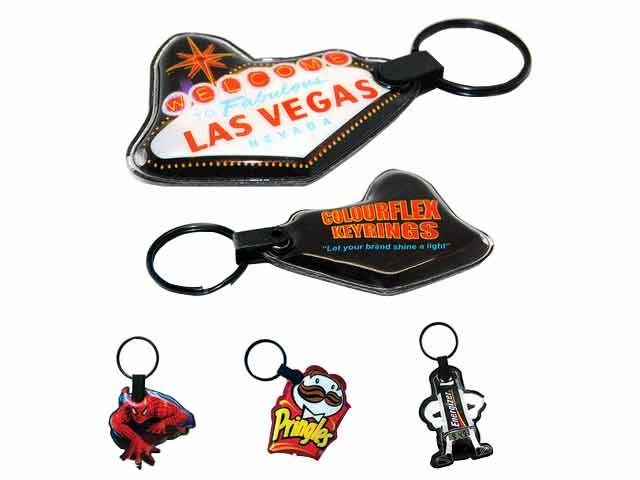 Colourflex Keyring at Miscellaneous | Ignition Marketing Corporate Gifts