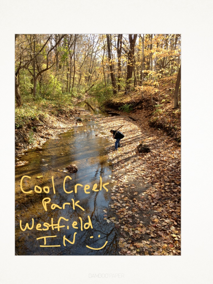 Fall 2011 Westfield, Indiana Cool Creek Park. Such a lovely place!: Indiana, Buckets Lists, Favorite Places, Lists Ideas, Creek Parks, Local, Hometown Fun, Fall 2011, 2011 Westfield