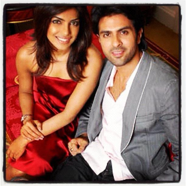 @peeceelicious aka @priyankachopra and harman baweja during press conference of love story 2050 in london many years ago #bollywood #actors #hindi #cinema #indian #india #mumbai more at http://www.sohailanjum.com