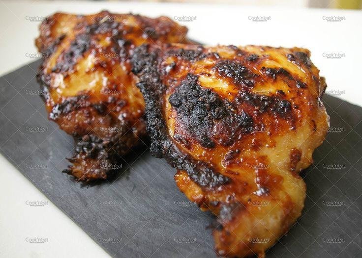 Cook'n'Eat: Recette de cuisses de poulet marinées et rôties au barbecue