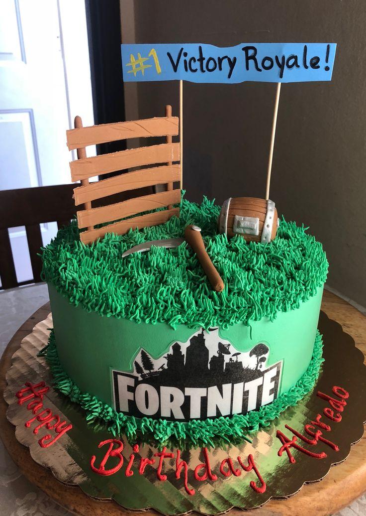 Fortnite birthday cake 12th birthday cake, 10 birthday