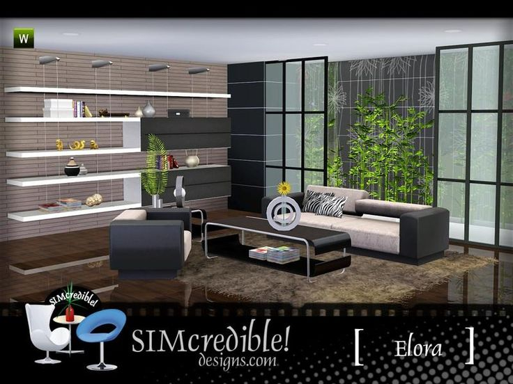 High Quality A Modern Living Room For Your Sims ^^ By SIMcredibledesigns.com Found In TSR Part 17