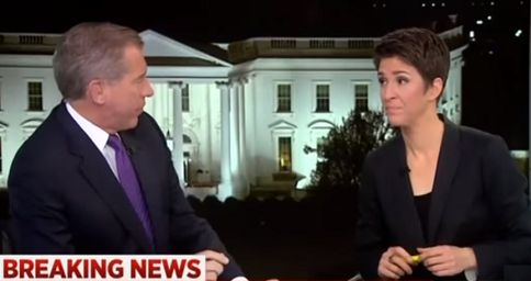 Brian Williams reportedly 'rebuked' by bosses for patronizing Maddow: 'Don't you ever do that again'