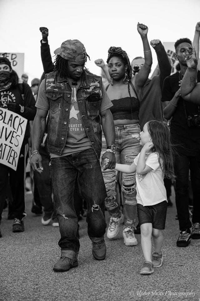 Little Girl Wanted To Take Part In The Blm March Black Lives Matter Protest Black Lives Matter Art Black Lives Matter March