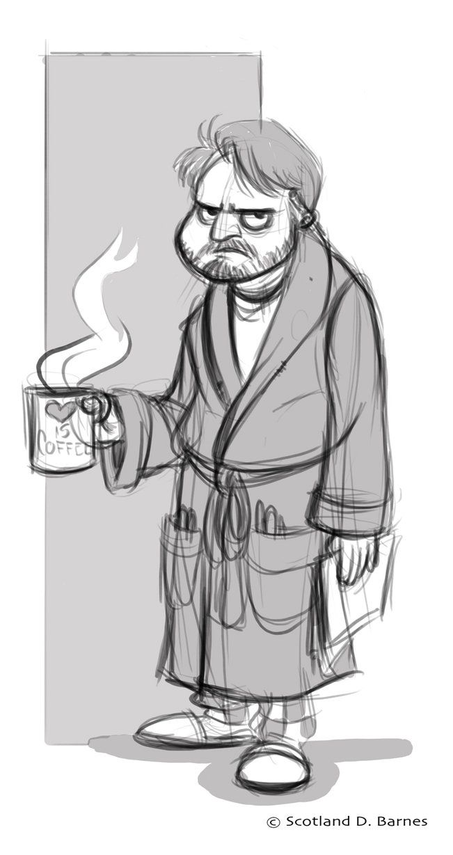 Portrait of me in the morning.....I hate mornings....and cereal.