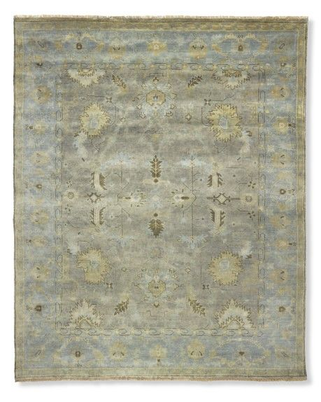 Ocean Tides Oushak Rug | Williams-Sonoma