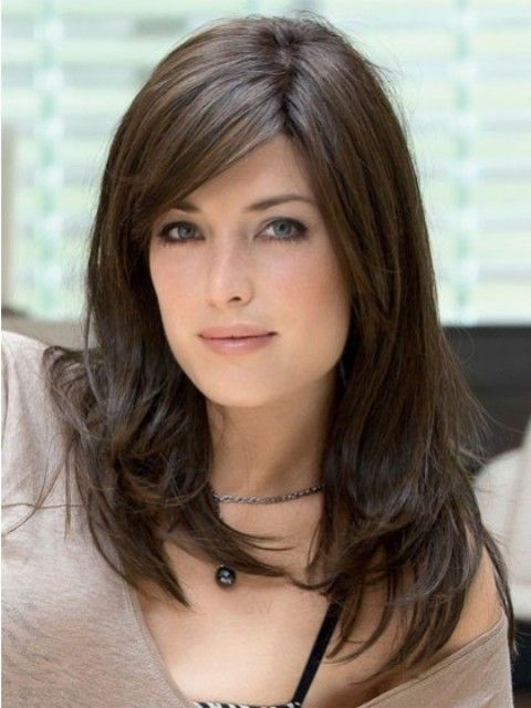 Best 25+ Bangs for oval faces ideas on Pinterest | Curled bangs ...
