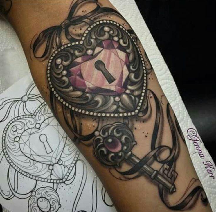 Lock And Key Tattoos!!!!