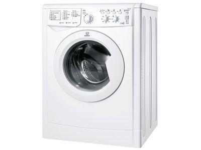 Soldes Lave-linge frontal séchant 7 kg coloris blanc INDESIT IWDC 7168 prix promo soldes Conforama 480,40 € TTC