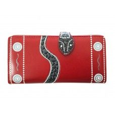 Snake Zipper Wallet
