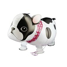 Gående Bulldog Heliumballong