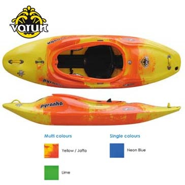 Pyranha Varun Whitewater Kayak Sale - 2011 Play Boat for fast water fun.