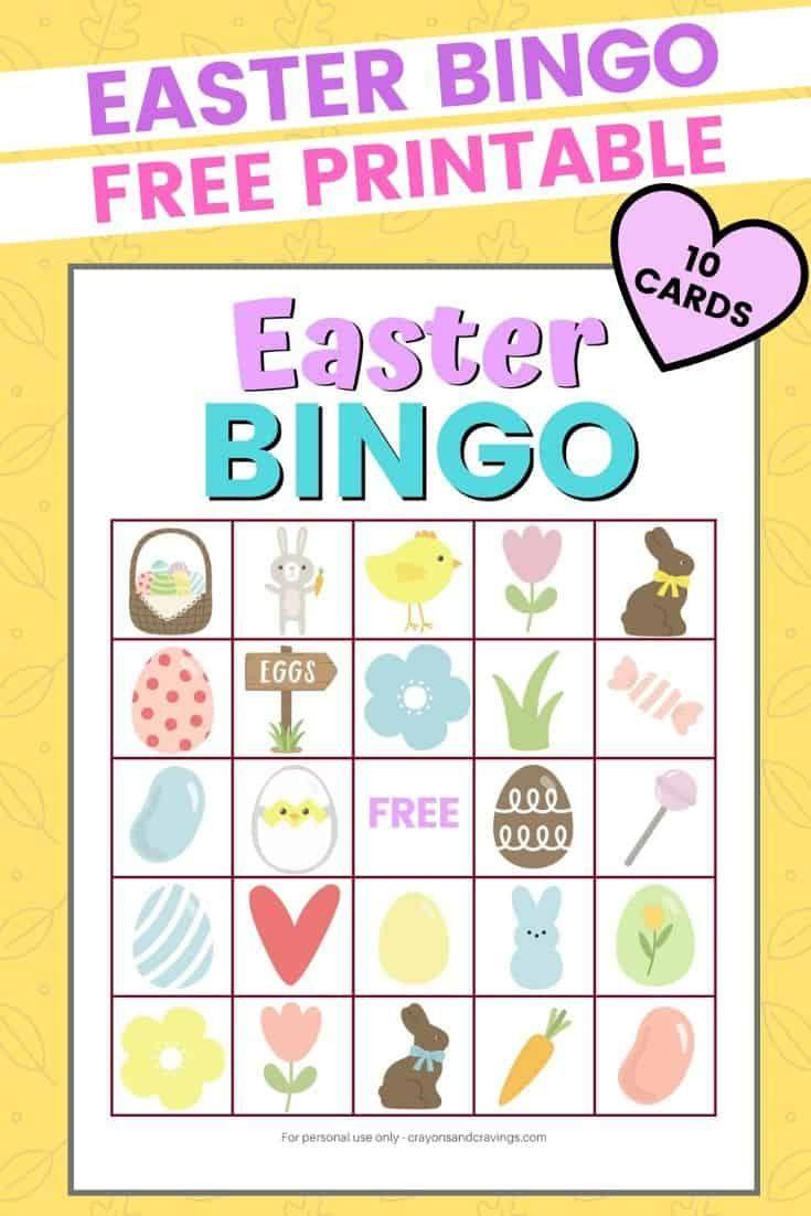 Easter bingo in 2020 with images easter bingo easter