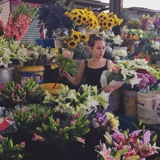 When she shared her obsession with flowers:   23 Times Alycia Debnam-Carey Had The Best Damn Instagram