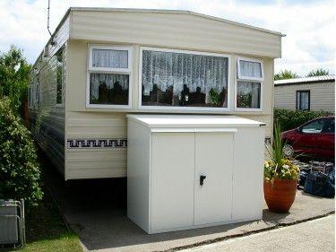 The Asgard Caravan Storage. Looks great outside any caravan