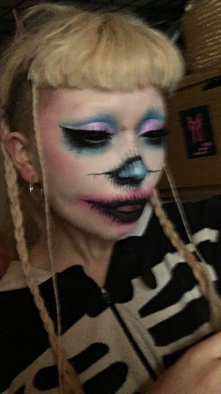 Jazmin bean mbj Pastel goth makeup, Aesthetic makeup
