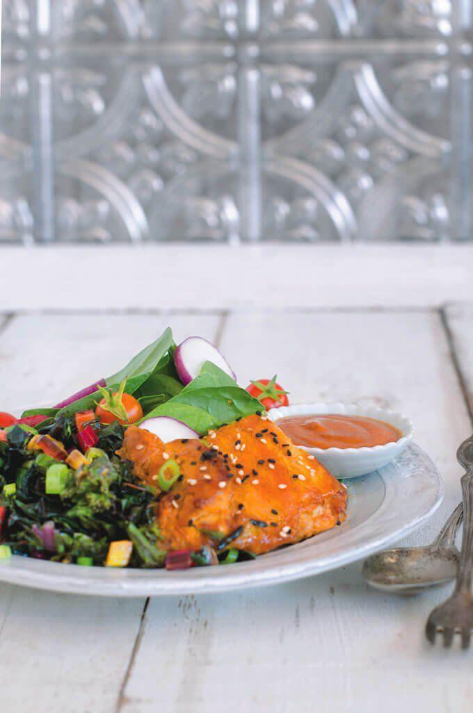 You Won't Regret This Gluten-Free Maple Sesame Glazed Chicken Recipe
