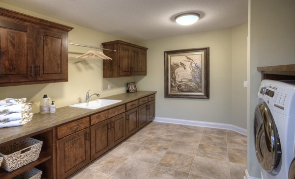 Lennar At Fox Hollow Off Of Hwy 7 In Victoria Upper Level Laundry Room Laundry Can Be A
