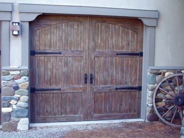 17 best images about garage door on pinterest wooden for Best wood for garage doors