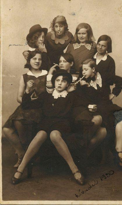 teenage delinquents (1930's)