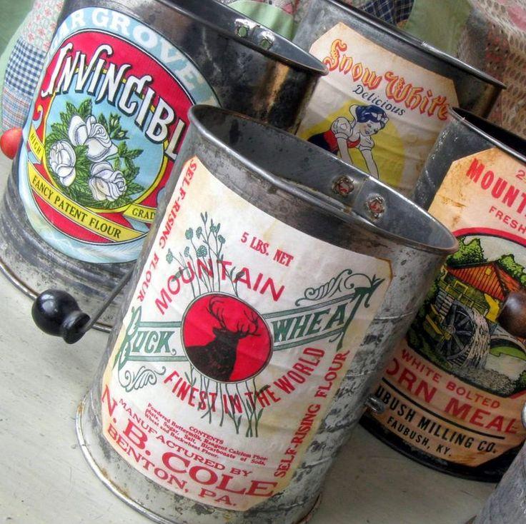 102 Best Vintage Flour Sifters Images On Pinterest