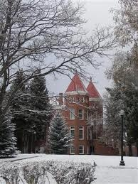 Northern Arizona University in Flagstaff, Arizona-I used to play cello here as a youngster in the music auditorium. Okay, I'm officially homesick now!