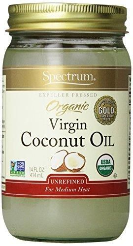 Spectrum Organic Coconut Oil Unrefined 14 oz