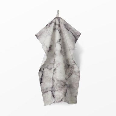 Kökshandduk Marmor, 50x70 cm, grå