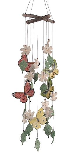 Butterflies are Free Windchime