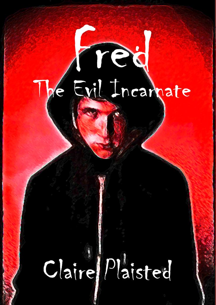 Book cover for Fred - the Evil Incarnate by Claire Plaisted.  Erotic Fantasy